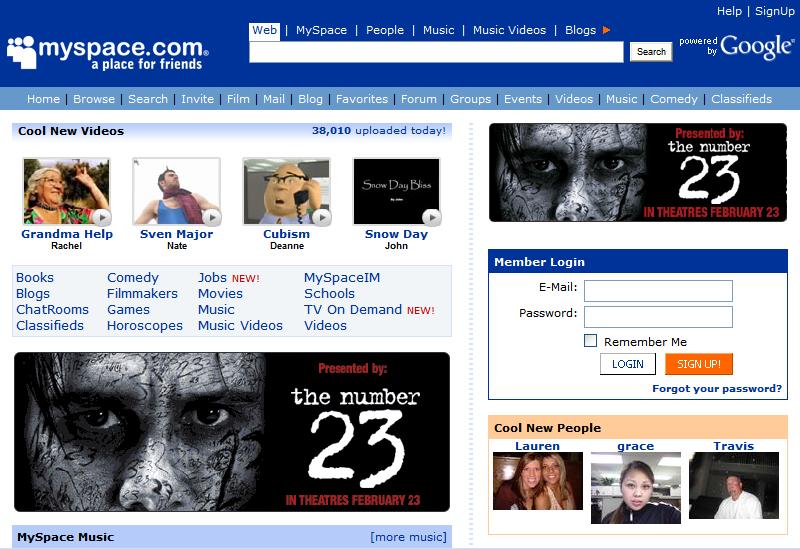 Recordando las viejas redes sociales - -Cueva Random- - 3DJuegos
