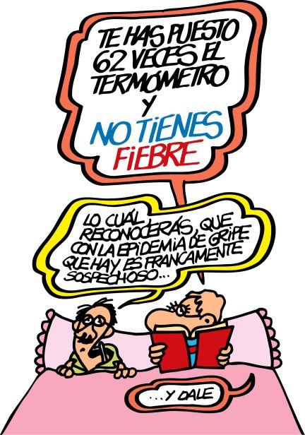 Hipocondriaco . Autor: Antonio Fraguas Forges – Fuente: El Pais.com