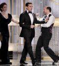 De izquierda a derecha, los actores Tina Fey, Steve Carell y Ricky Gervais - Ampliar imagen