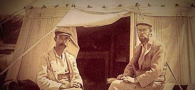 Bernard P. Grenfell y Arthur S. Hunt