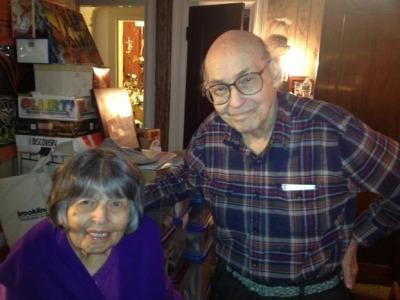 Marvin Minsky y Gloria Rudisch
